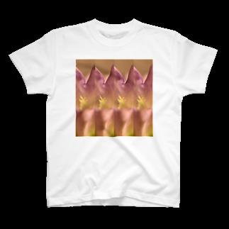 クレヨン君とえんぴつ君のふうりんそう T-shirts