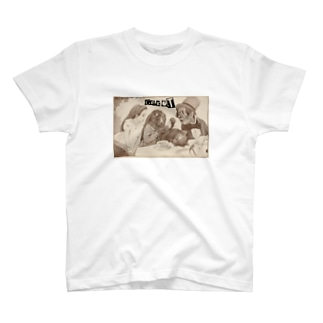 """Alice's adventures in Wonderland"" S/S Tee T-shirts"