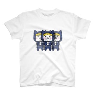 にゃんこ忍者 T-shirts