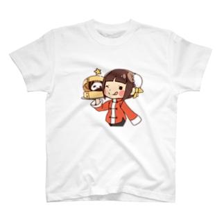 チャイナガール&パンダ T-shirts