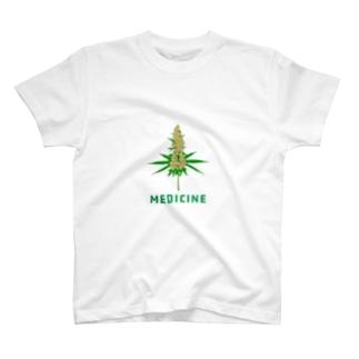大麻/マリファナ Tシャツ T-shirts