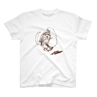 TAIYAKI INSANITYのHorn Head T-shirts