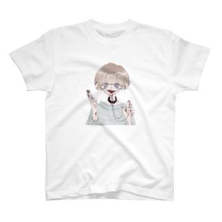 いつも元気な男の子 T-shirts