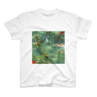 モネの池の様子 T-shirts