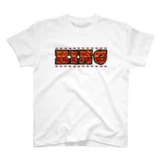 KINGロゴ T-shirts
