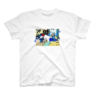 ねことわたしとわたしのお部屋 T-shirts