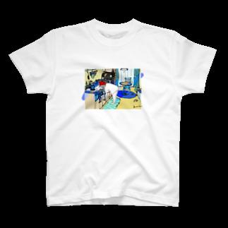 kameのねことわたしとわたしのお部屋 T-shirts