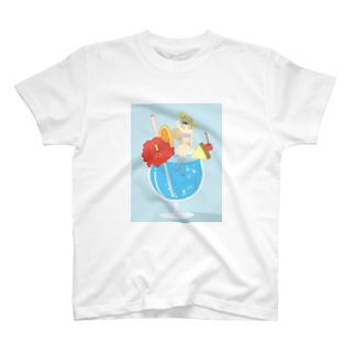 TROPICAL♡GIRL T-shirts