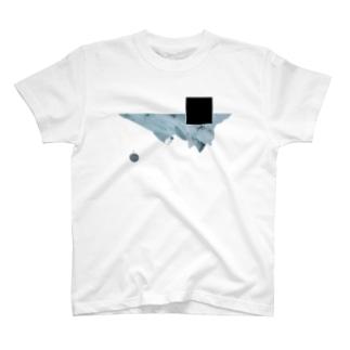 山と月 T-shirts