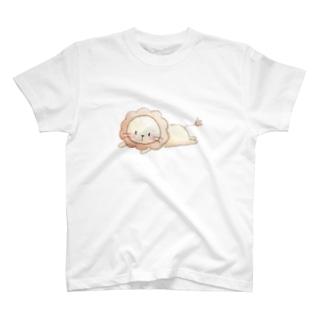 ライオンのプティ T-shirts
