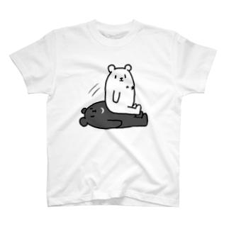 ほしぐまくんとつきぐまくん T-shirts