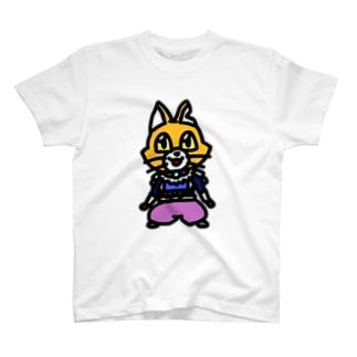 キャットC「棒立ち」 T-shirts