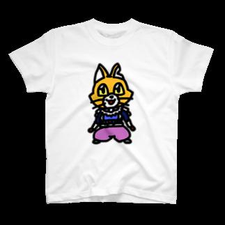 キャットCのこうじょうけんがくのキャットC「棒立ち」 T-shirts