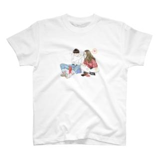 照れ屋な彼と。 T-shirts