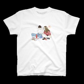 そとこの照れ屋な彼と。 T-shirts