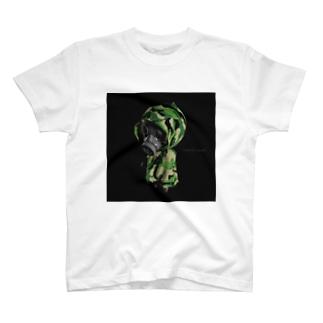GasMask soldier T-shirts
