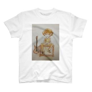 ギター・boy T-shirts