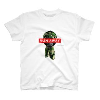 RUN AWAY T-shirts