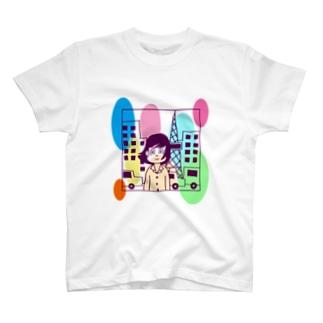 シティーライツ T-shirts