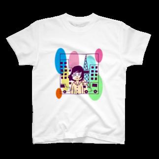 ふくたつショップのシティーライツ T-shirts