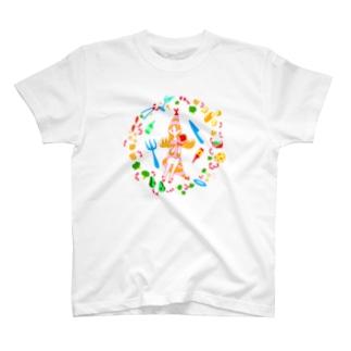 えびな女の子 T-shirts
