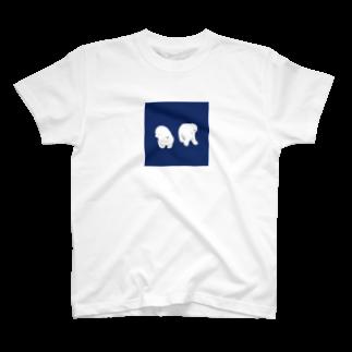 Iwabuchi Mamiの不思議なワンちゃん T-shirts