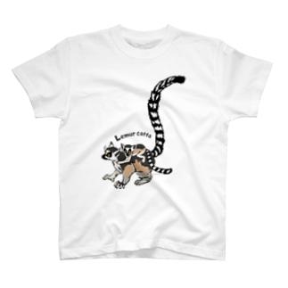Lemur catta*ワオキツネザルTシャツ T-shirts