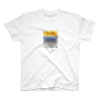 自由律俳句マン T-shirts