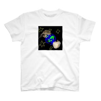 宇宙×猫 T-shirts
