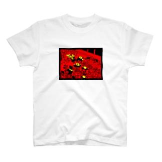 働くカエル達 T-shirts