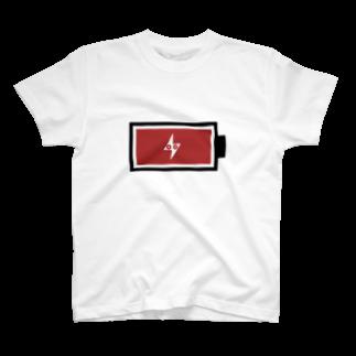 【公式】 さ部 - NET SHOPのただいま38%充電中 T-shirts