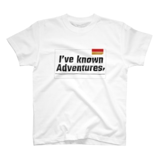 I have known adventures, T-shirts