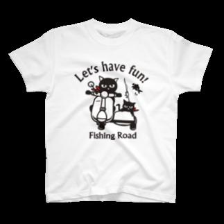 ikeyocraft のフィッシングロード 1 T-shirts