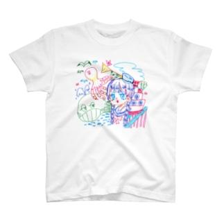 しゃもた T-shirts