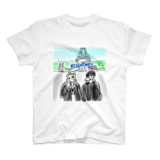 リーゼン&マッシュ in パリ T-shirts