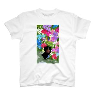 雨の日の出会い T-shirts