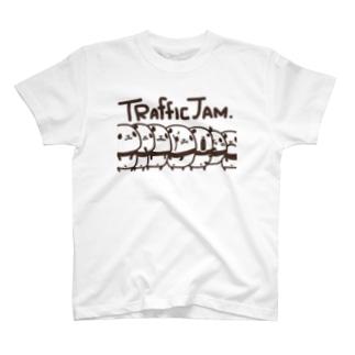 渋滞パンダ T-shirts