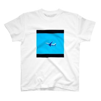 飛行機 T-shirts