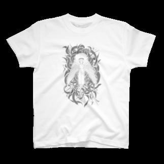 mechaholidayの月曜焼き T-shirts