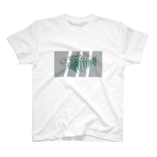 溶け魚 T-shirts