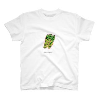 アスパラグッズ T-shirts