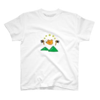 巻き割りクマさん T-shirts