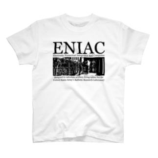 ENIAC「エニアック」:科学:世界最初の汎用電子式コンピュータ T-shirts
