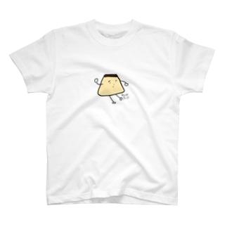 こだわり卵のやわらかプリン T-shirts