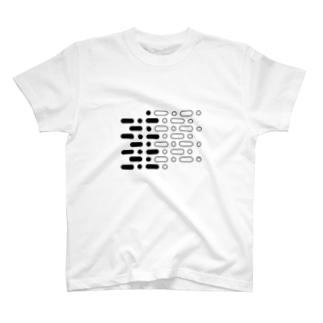 ツートーンのツートン T-shirts