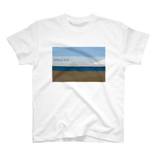 Spring sea T-shirts