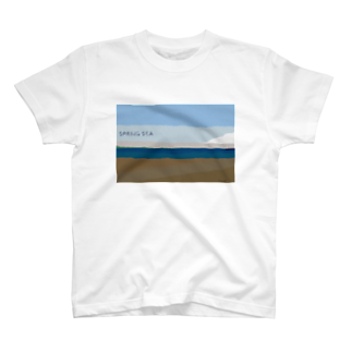 ベーコン嫌いのSpring sea T-shirts