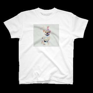 フレンチブルドッグのポトフ。のhappy  potofu T-shirts