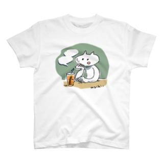 しゃべるねこ T-shirts