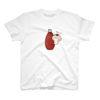 ケチャップ T-shirts